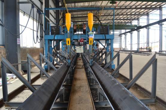 """贵州玖固钢结构有限公司""""一站式""""的生产线"""