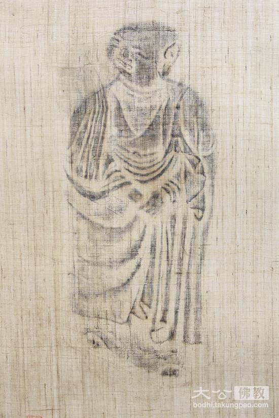 非常具有意境的僧人图(摄影:姚勇)-艺术之中悟禅意 庆澳门回归十