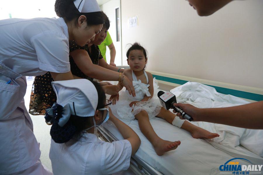 郑州一幼儿园警察枪支走火致5人受伤