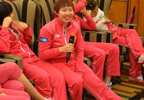 2014年中国乒乓球公开赛4日在成都开赛
