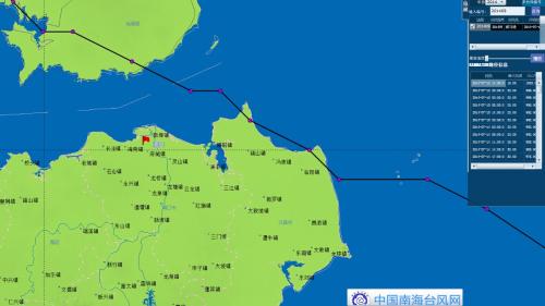 海南气象专家解析威马逊台风登陆海南文昌全过程