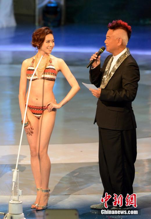 2014年度香港小姐冠亚季军性感出炉