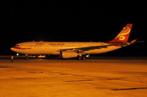 海南航空开通杭州=西安=巴黎航线