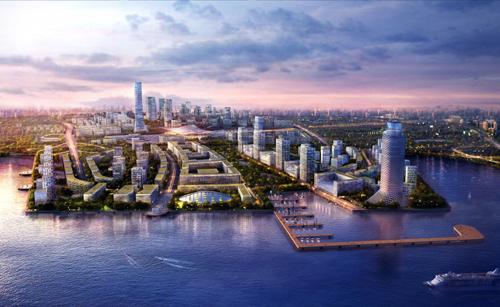 """青岛交通商务区打造""""青岛未来城"""""""