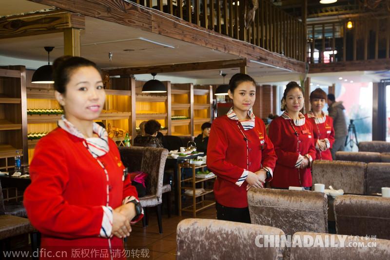 """""""无声主题餐厅"""",服务员都是聋哑人.-长春 无声 主题火锅店 聋哑"""