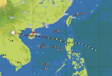 盘点海南台风历史之最