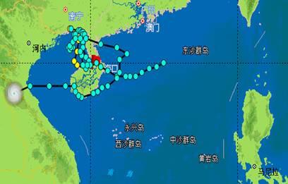 中国台风网路径_盘点海南台风历史之最[3]- 中国日报网