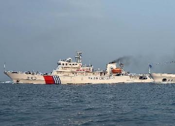 海南海事局开展首次西沙海域海空联合巡航
