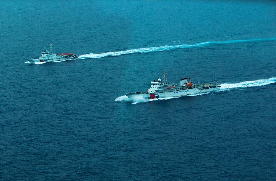 21日,22日上午,巡航水上飞机将分别两次从三亚出发,与巡航船舶编队会