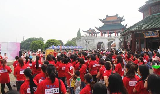 """桂林首届大型女性主题酷跑活动""""奔跑吧,妹纸!""""活动在乐满地圆满结束!图片"""