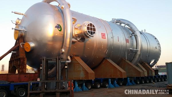 装备中国 立身世界——澳门百老汇手机客户端打造石化容器产品纪实