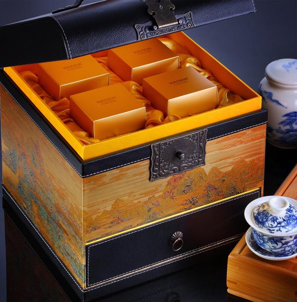 沈阳万达文华酒店呈献中秋月饼礼盒图片