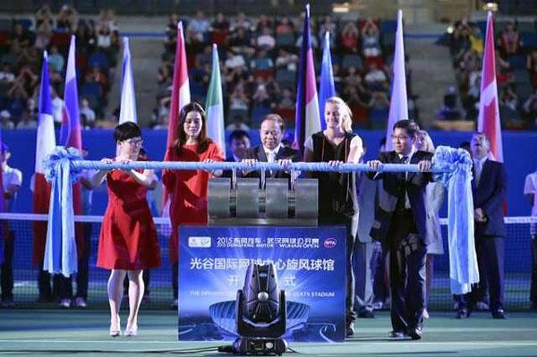 武汉网球公开赛李娜_2014武汉网球公开赛李娜出席退役仪式