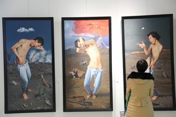 2015新锐计划――安徽青年画家油画作品展在合肥开幕