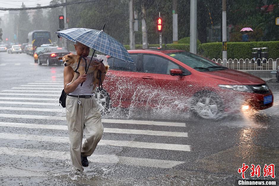 北京大暴雨_北京发布暴雨黄色预警局地有大暴雨[4]-中国日报网