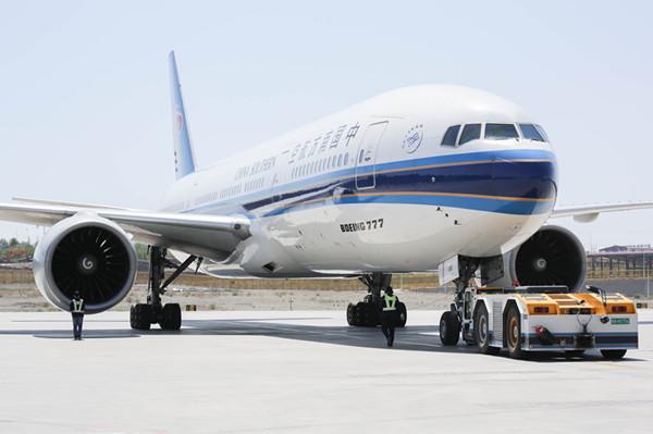 波音777大型宽体客机