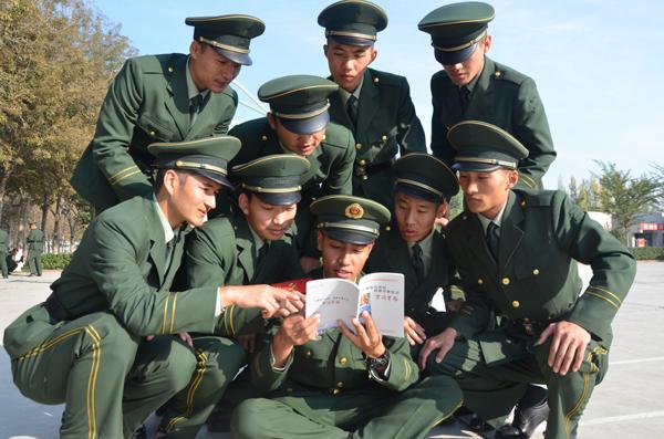 武警新疆森林总队新兵大队坚持 四项举措 锻造 打赢 本领图片