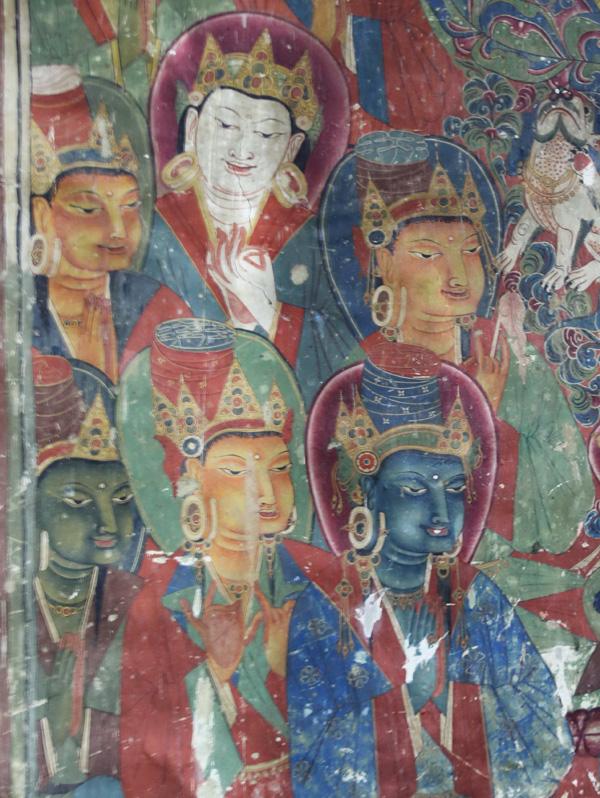 扎塘壁画,墙面上的古老艺术