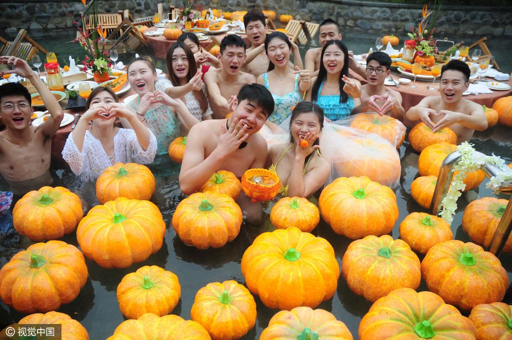 杭州/图为婚礼现场。