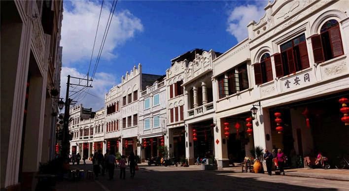 西门市场(购买海鲜干货)——夜游骑楼小吃街及周边(汇聚海南本土美食
