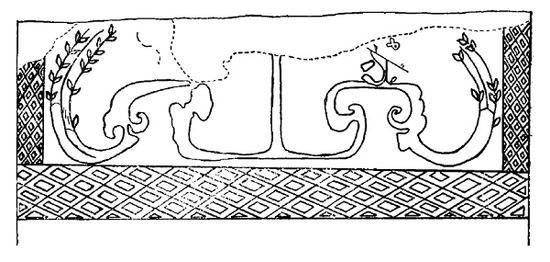 秦始皇生活起居休憩时面对的画作是什么样的?陕西省咸阳市区以东15公里的窑店镇秦都城遗址内,保存有三座秦代咸阳宫遗址。其中第三号宫殿遗址内发现的32.4米长的秦代壁画是迄今发现的最早宫殿壁画,虽然多为残片,却是也是见证秦始皇生活起居的画作,极其罕见而珍贵。图为现藏陕西省咸阳市文物保护中心的咸阳宫遗址壁画《驷马图》。  根据考古报告,出土壁画在咸阳宫殿廊东西坎墙墙壁上。题材为秦王出行车马、仪仗等,其中有车马、人物、花木、建筑等形象。    秦咸阳宫殿遗址仪依仗图中的人头像手绘复原图。  这批壁画是迄今仅见的