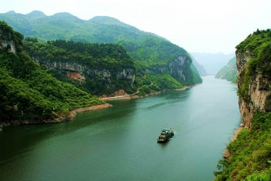 重庆彭水阿依河景区在北京举行推介会