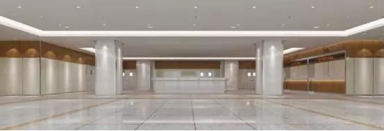 酒店大厅室内透视图