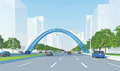 揭秘:河南自贸区logo及拱门设计及寓意