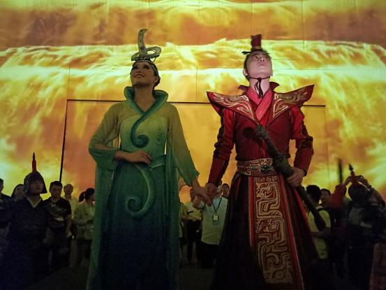 《沙坡头盛典》助力宁夏旅游演艺进入4.0时代