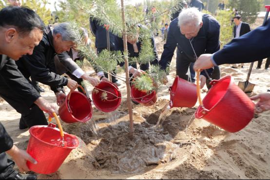 共栽友谊树 携手新合作——宁夏与岛根缔结国际友城关系25周年庆祝活动在银川举行
