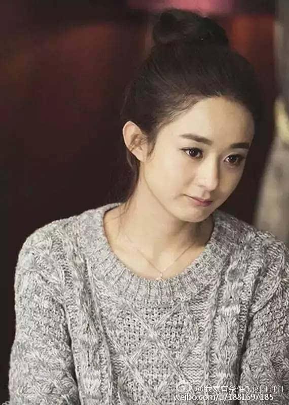 今年流行的丸子头,赵丽颖郑爽杨幂竟然都输给了她?